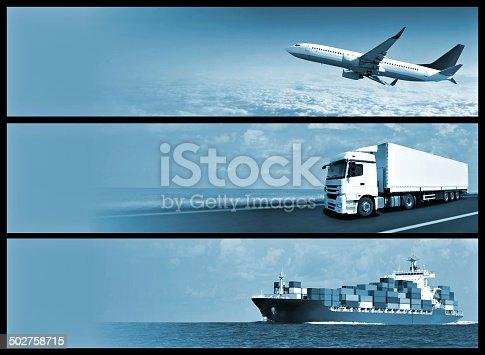 istock Logistics Banners 502758715