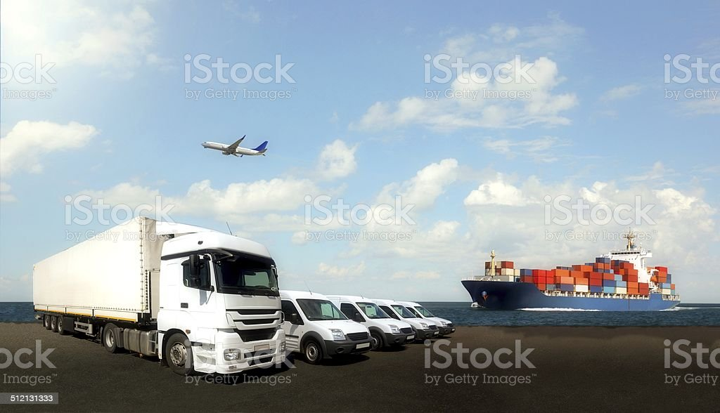 Logistics Composition stock photo