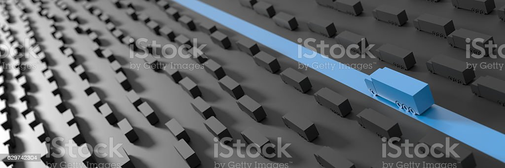 Logistics industry concepts stock photo