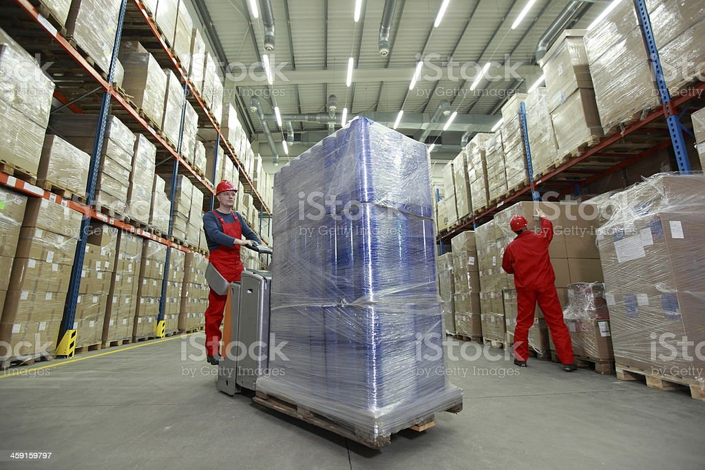 Logistics Management Of The Flow Resources Stock Photo ...