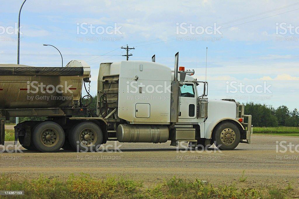 Logistics - Trucking royalty-free stock photo