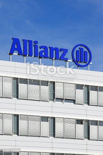 Logo di allianz societ di assicurazione fotografie for Allianz condizioni generali di assicurazione
