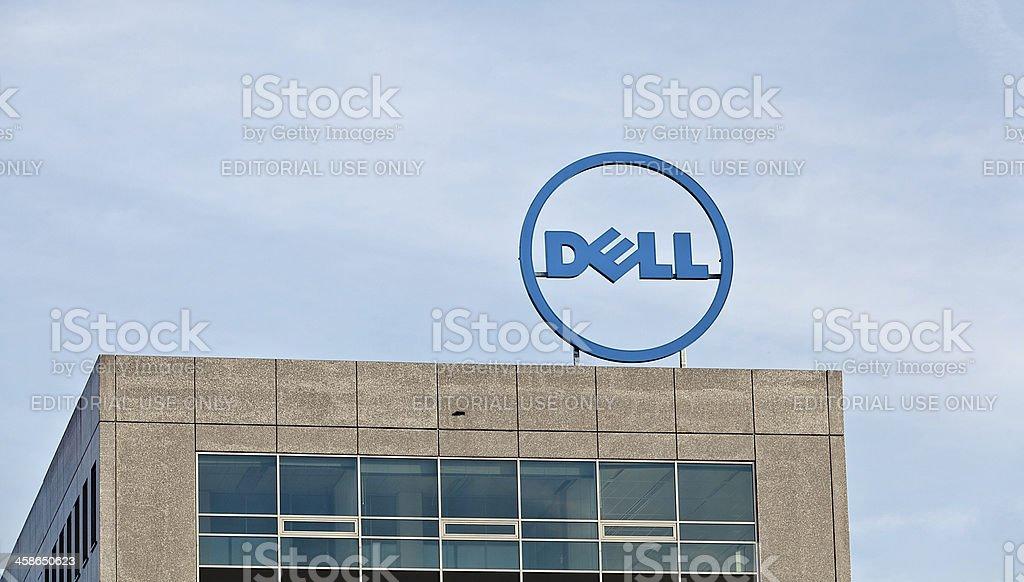 Logo of Dell Inc stock photo