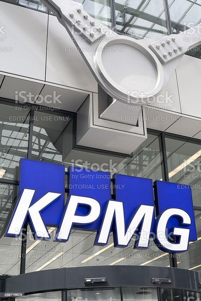 Логотип из KPMG - Стоковые фото Абстрактный роялти-фри