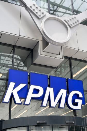 Логотип Из Kpmg — стоковые фотографии и другие картинки Абстрактный