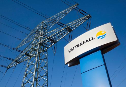 Logo of Vattenfall