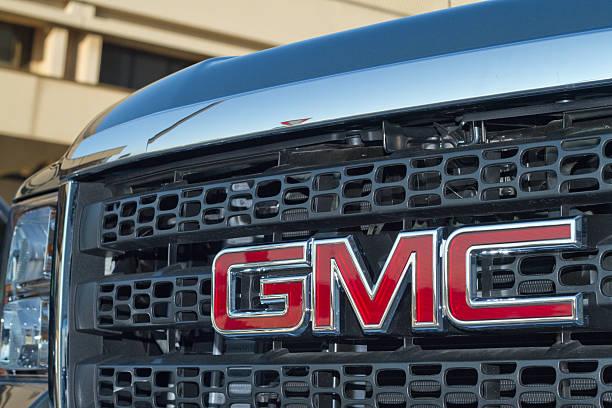 GMC Logo stock photo