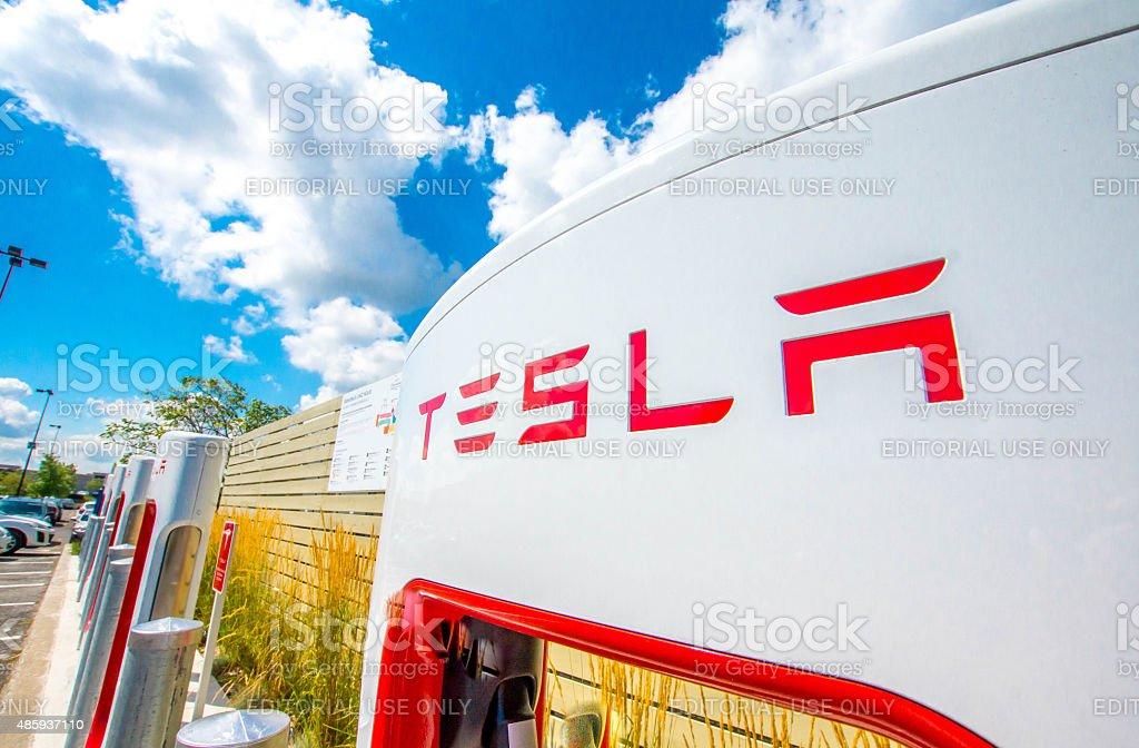 Logo Tesla - Photo