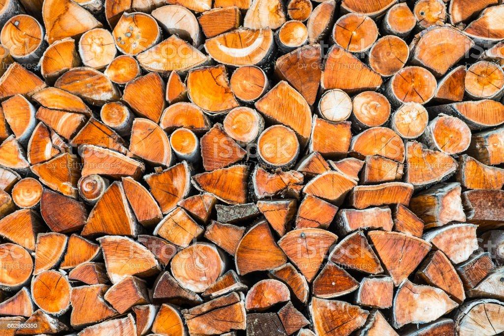 Logstack stock photo