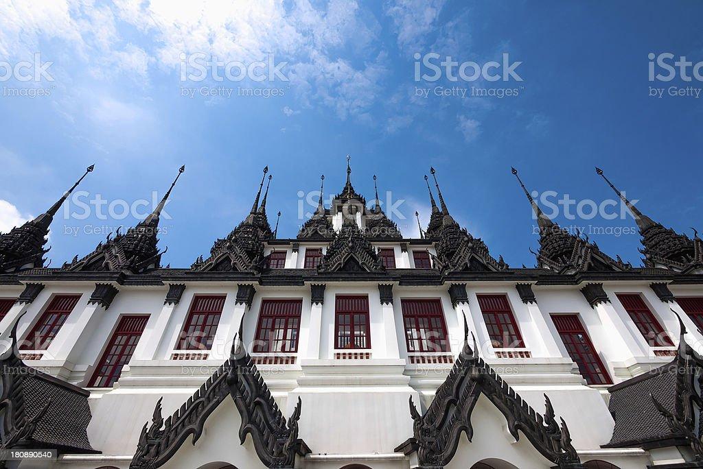 Loha Prasat at Wat Ratchanadda royalty-free stock photo
