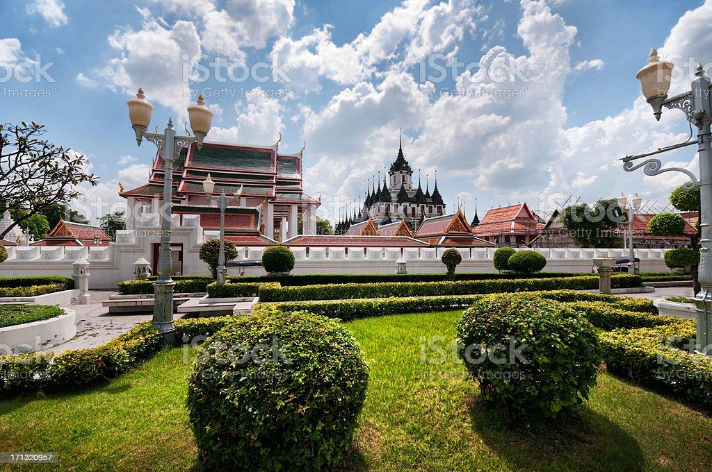 Loha Prasat Temple (Wat Ratchanaddaram) ,Thailand royalty-free stock photo