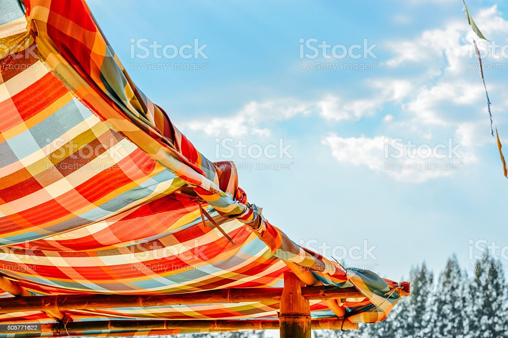Loincloth or commonly called pah-kah-mah stock photo