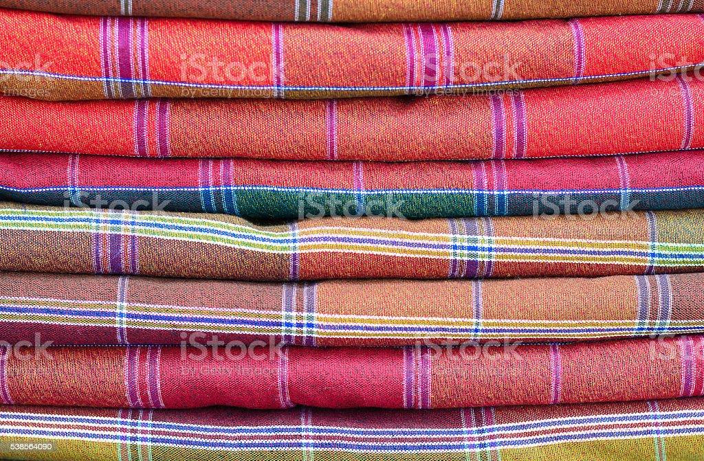 Loincloth stack stock photo
