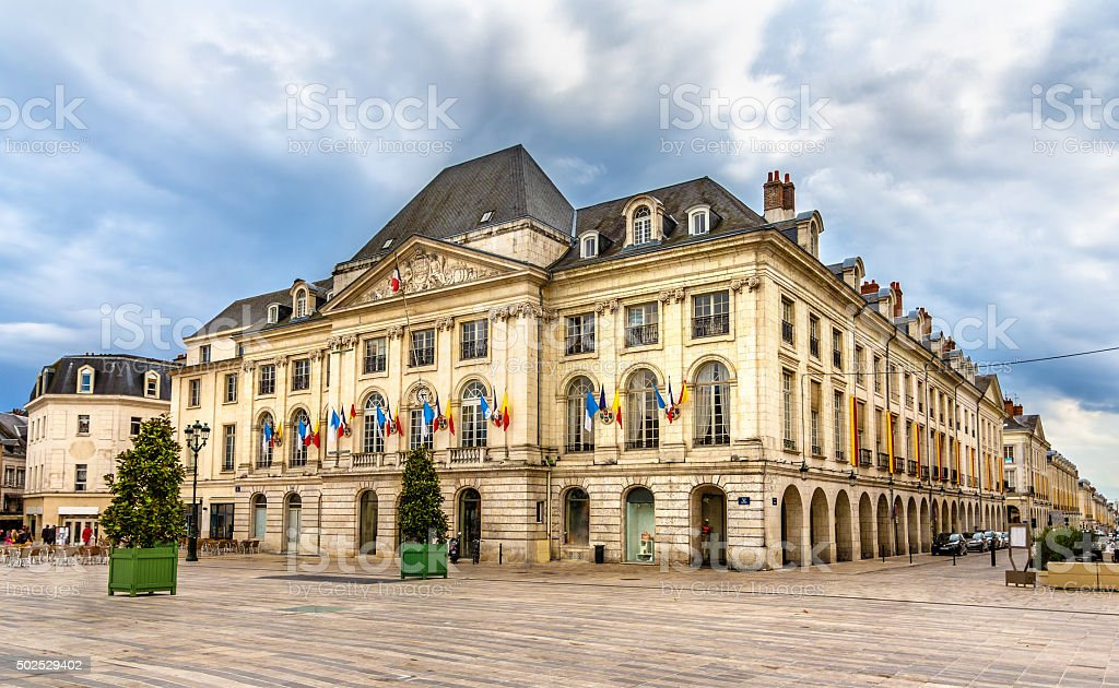 Chambre de commerce du Loiret in Orleans - France stock photo