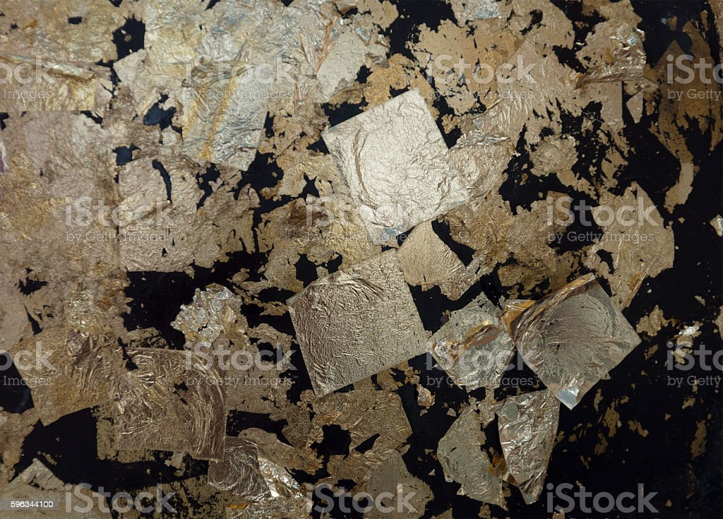 Loknimit(thailand) Gold foil attached royalty-free stock photo