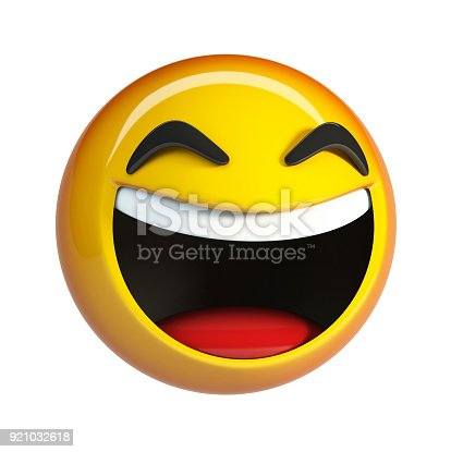 istock LoL Emoji. Laughing Face emoticon. 921032618