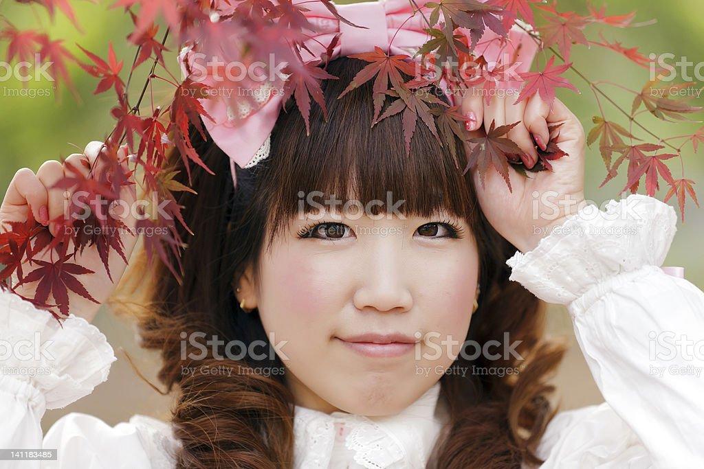 lolita portrait royalty-free stock photo