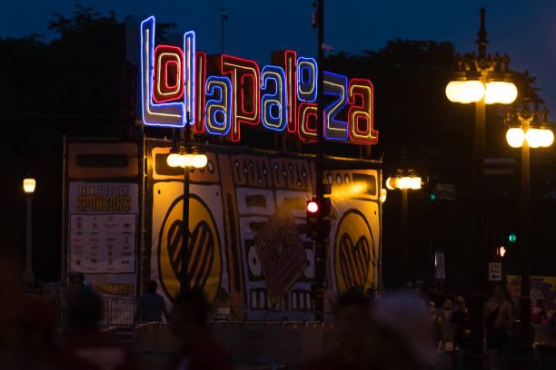 Lollapalooza stock photo