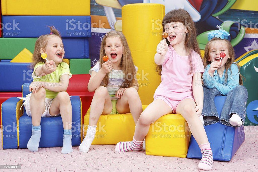 Lollipops royalty-free stock photo