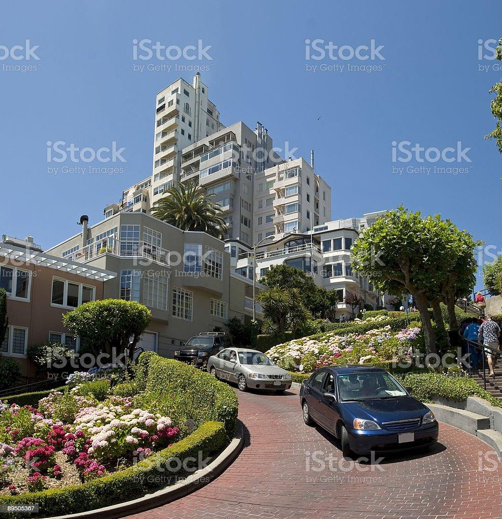 Lombard Street San Francisco foto stock royalty-free