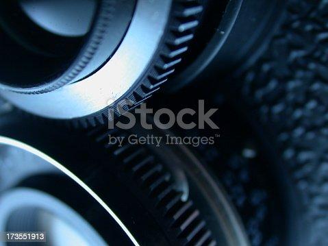 Closeup of a Lubitel lomo camera