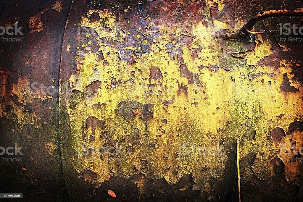 Lomo Textures - Fuel Tank royalty-free stock photo