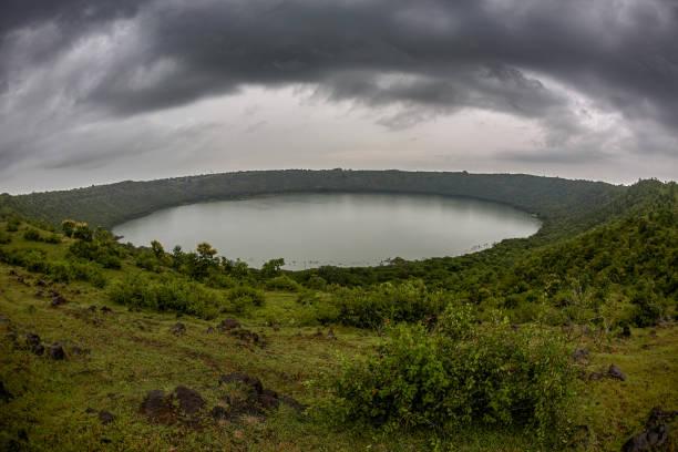 Lonar Lake National Geo-heritage Monument crater