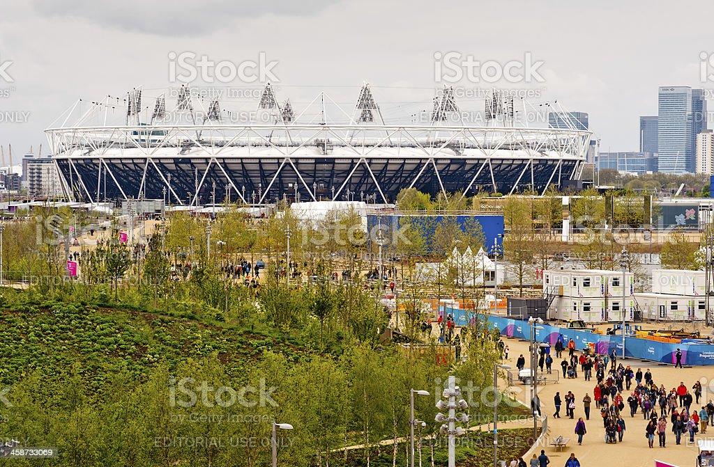 London 2012 Olympic stadium stock photo