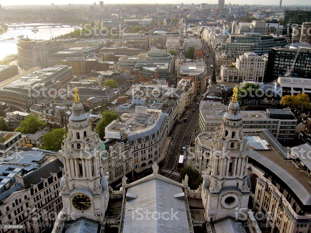 London Aerial stock photo