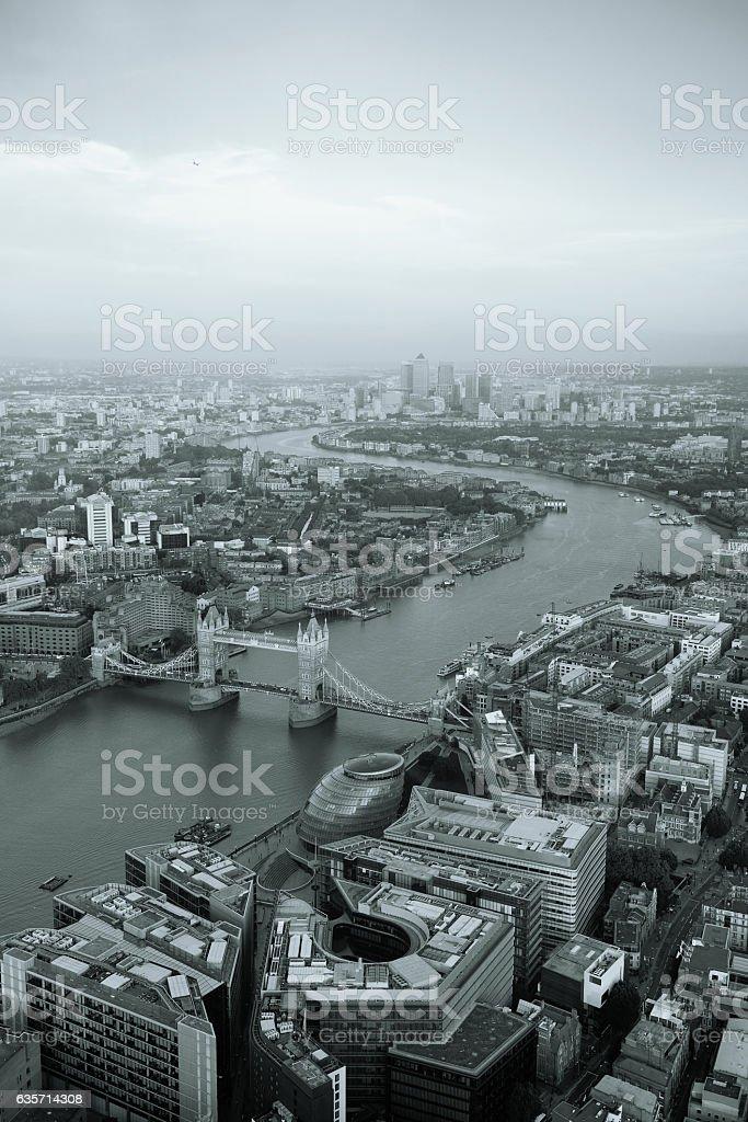 London aerial royalty-free stock photo