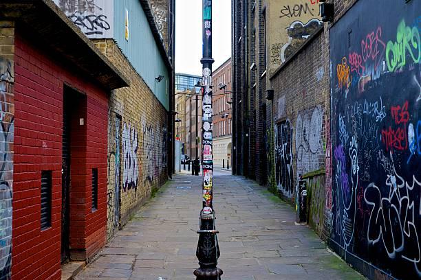 london besichtigen, die in grafitti - sprüche englisch stock-fotos und bilder