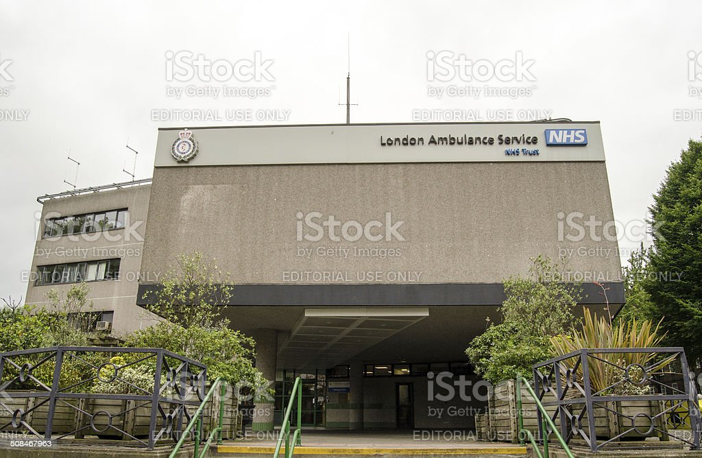London Ambulance Service Headquarters stock photo