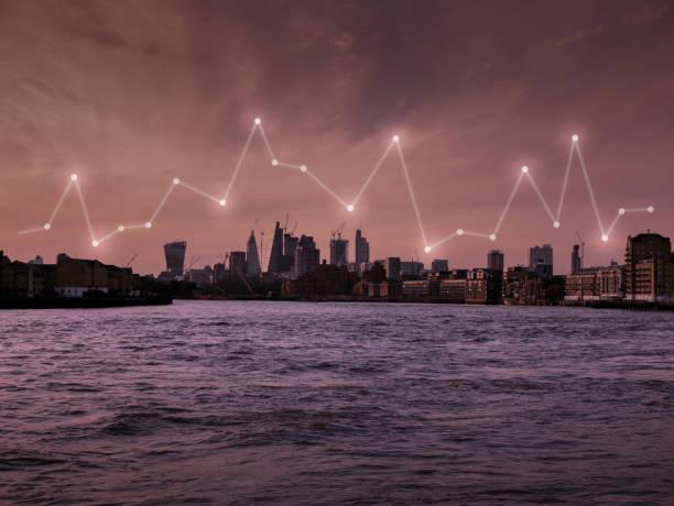 London und Metropol-Bürogebäude EU Europe für Netzwerk und Zukunftskonzept – Foto