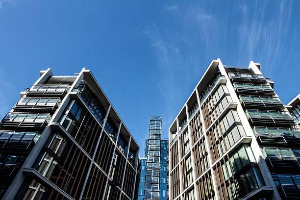 London Apartment-Gebäude – Foto