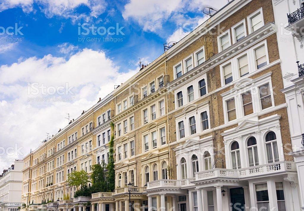 London Apartments - Kensington stock photo