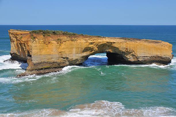 London Arch, Great Ocean Road, Victoria, Australia stock photo