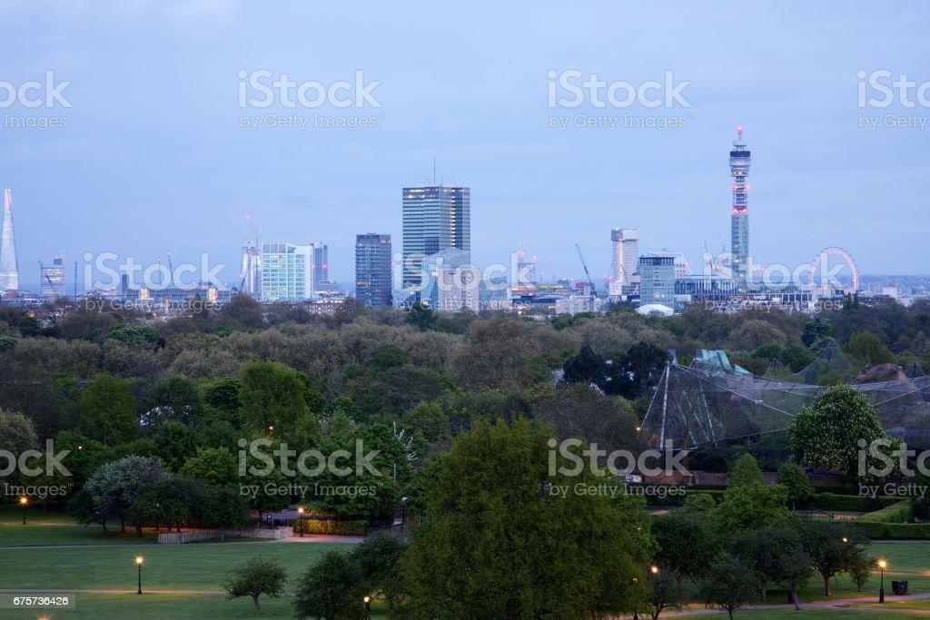 London architecture and scenes stock photo