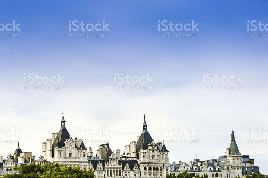 London architecture royalty-free stock photo