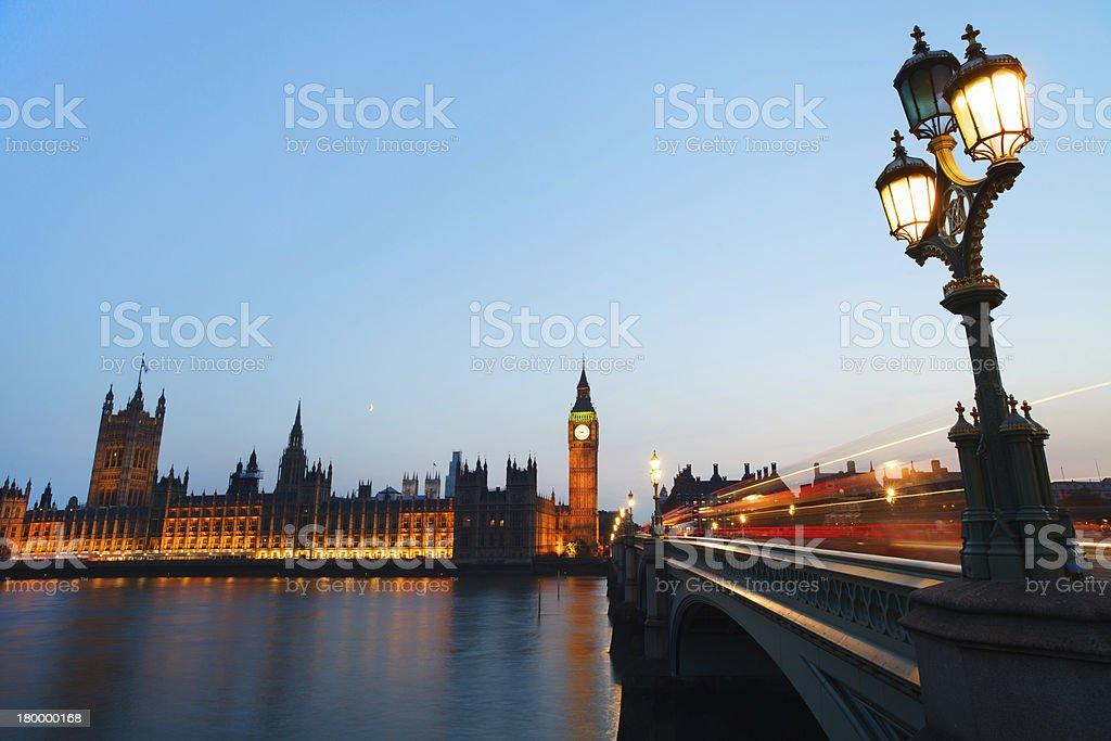 런던 야간에만 royalty-free 스톡 사진