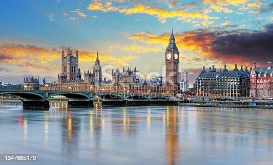 istock London at sunset 1347665170