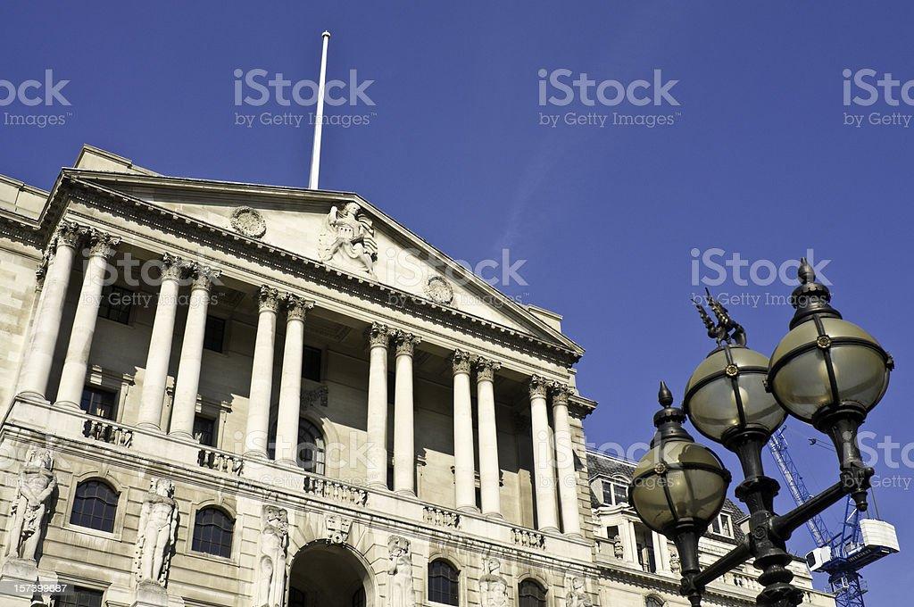 London Bank of England stock photo
