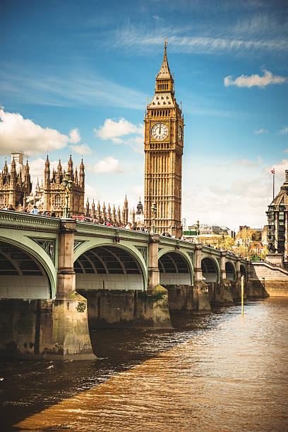 london big ben and house of parliament - big ben stock photos and pictures
