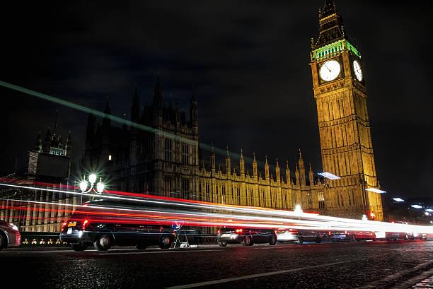London, Big Ben bei Nacht – Foto
