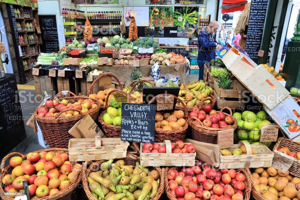 London Borough Market stock photo