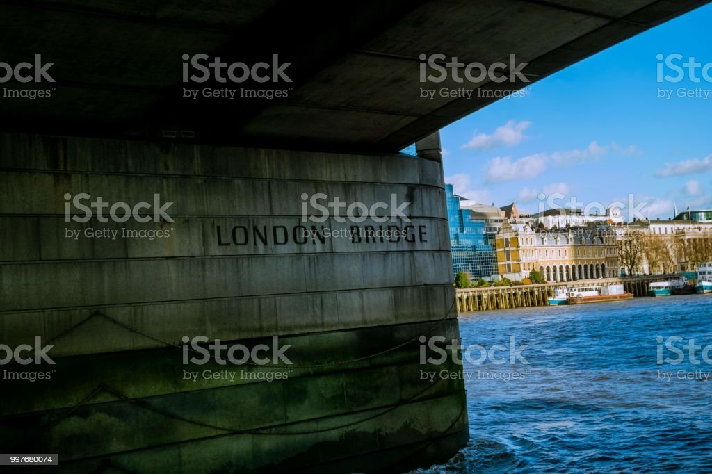 London Bridge, England UK stock photo