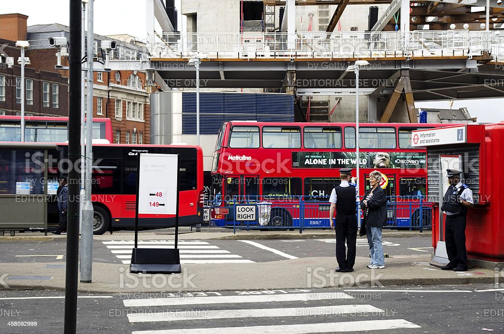 London Bridge Station concourse royalty-free stock photo