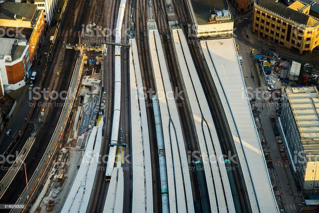 London Bridge Station stock photo