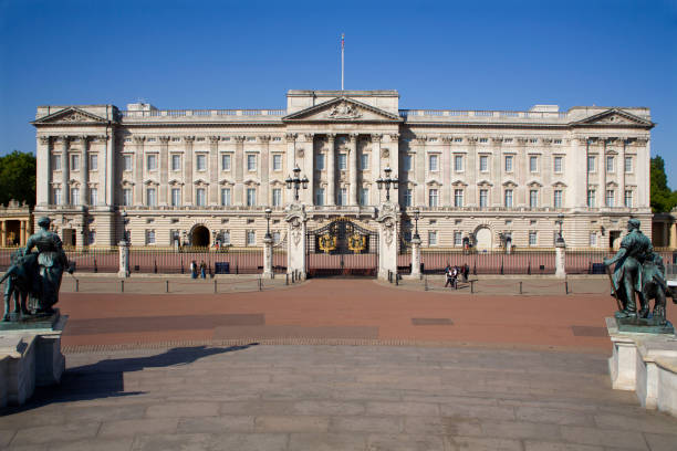 London - Buckingham palace stock photo