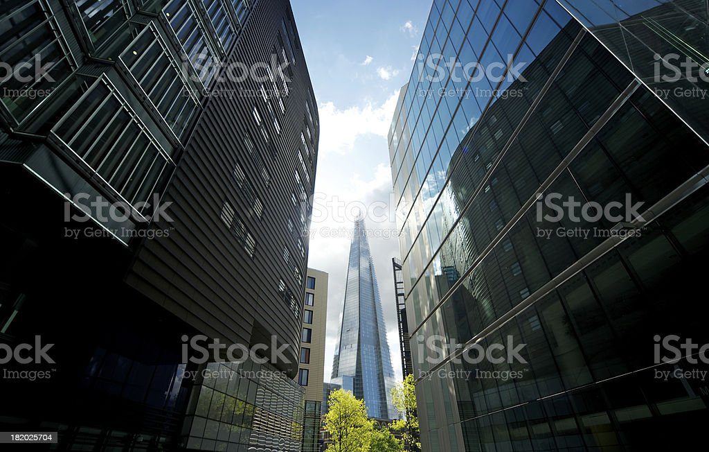 London Busines Park royalty-free stock photo