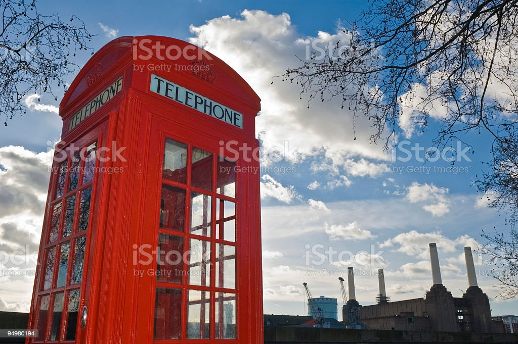 London calling royalty-free stock photo